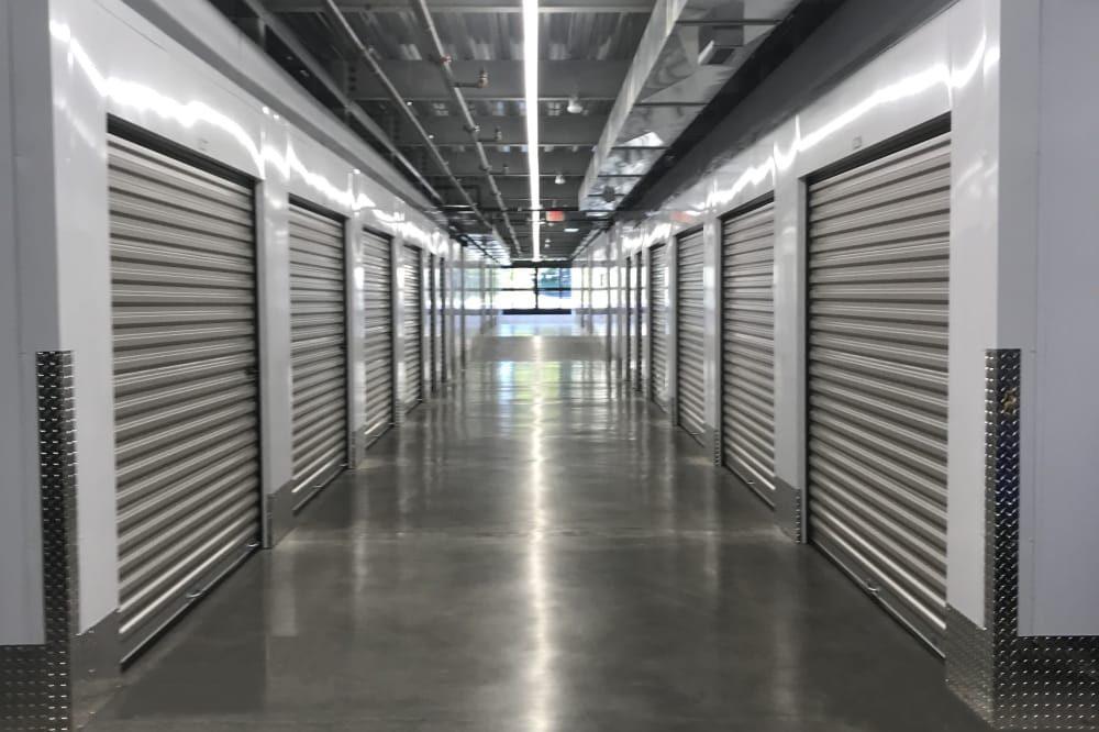 Interior units at Hollow Tree Self Storage in Darien, Connecticut